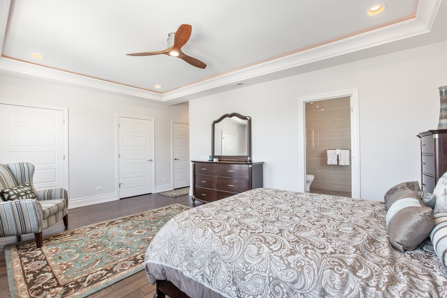 Real Estate Photography - 7259 N Oriole Ave, Chicago, IL, 60631 - Master Bedroom