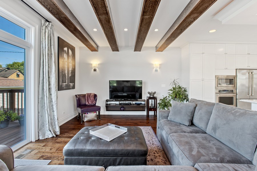 Real Estate Photography - 7259 N Oriole Ave, Chicago, IL, 60631 - Family Room
