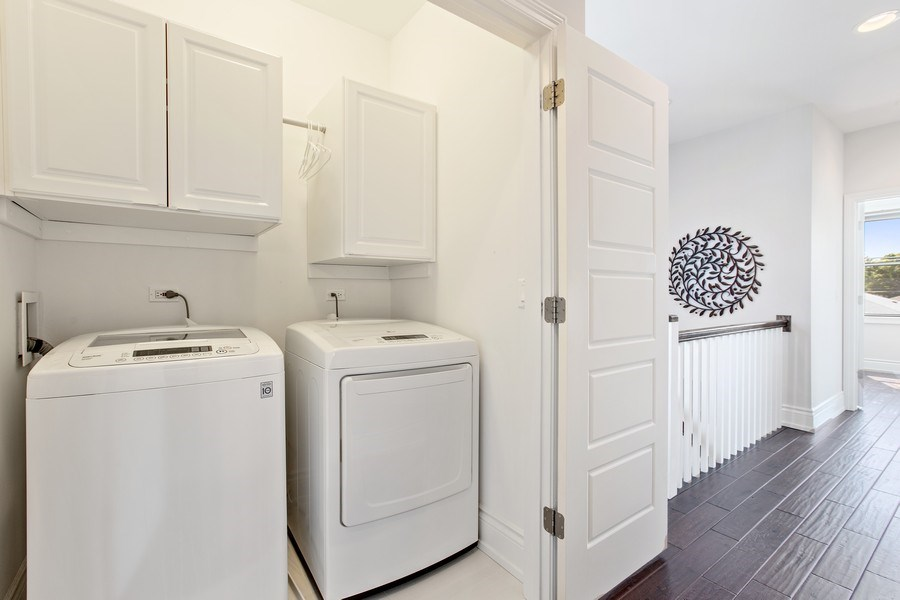 Real Estate Photography - 7259 N Oriole Ave, Chicago, IL, 60631 - Laundry Room