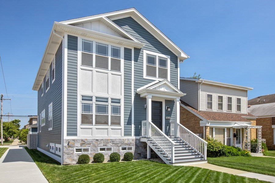 Real Estate Photography - 7259 N Oriole Ave, Chicago, IL, 60631 - Front View
