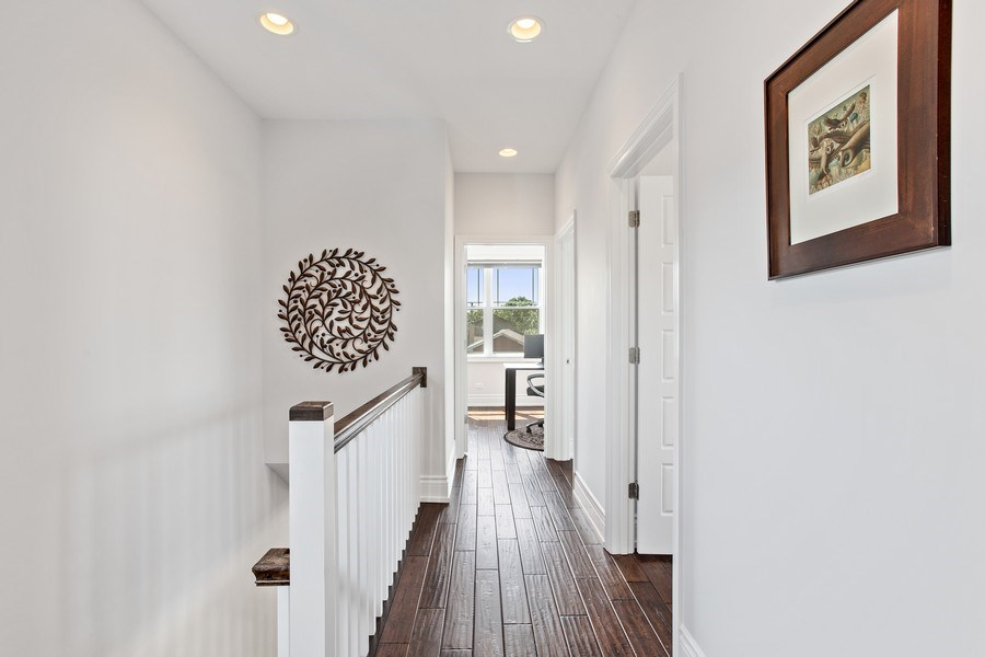 Real Estate Photography - 7259 N Oriole Ave, Chicago, IL, 60631 - Hallway