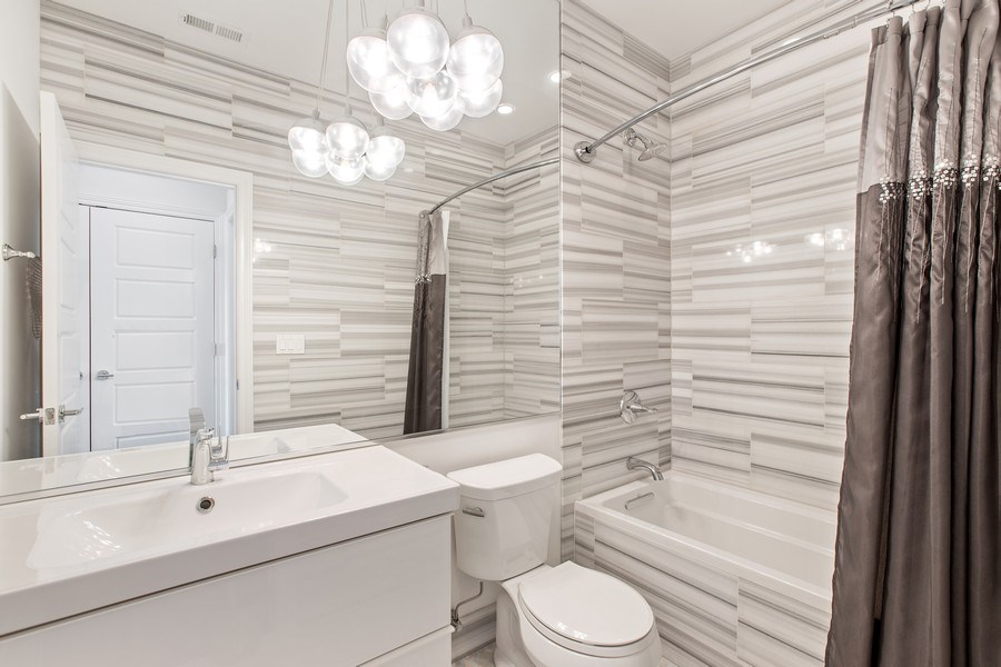 Real Estate Photography - 7259 N Oriole Ave, Chicago, IL, 60631 - Bathroom 2