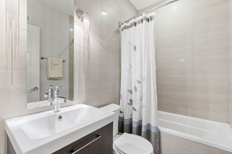 Real Estate Photography - 7259 N Oriole Ave, Chicago, IL, 60631 - Bathroom 3