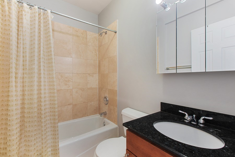 Real Estate Photography - 5148 Avers, Unit 3W, Chicago, IL, 60625 - Bathroom