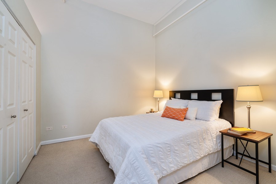 Real Estate Photography - 1907 N Milwaukee, #209, Chicago, IL, 60647 - Bedroom