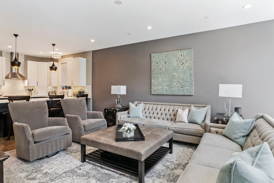Real Estate Photography - 858 W Aldine, #2, Chicago, IL, 60657 - Living Room