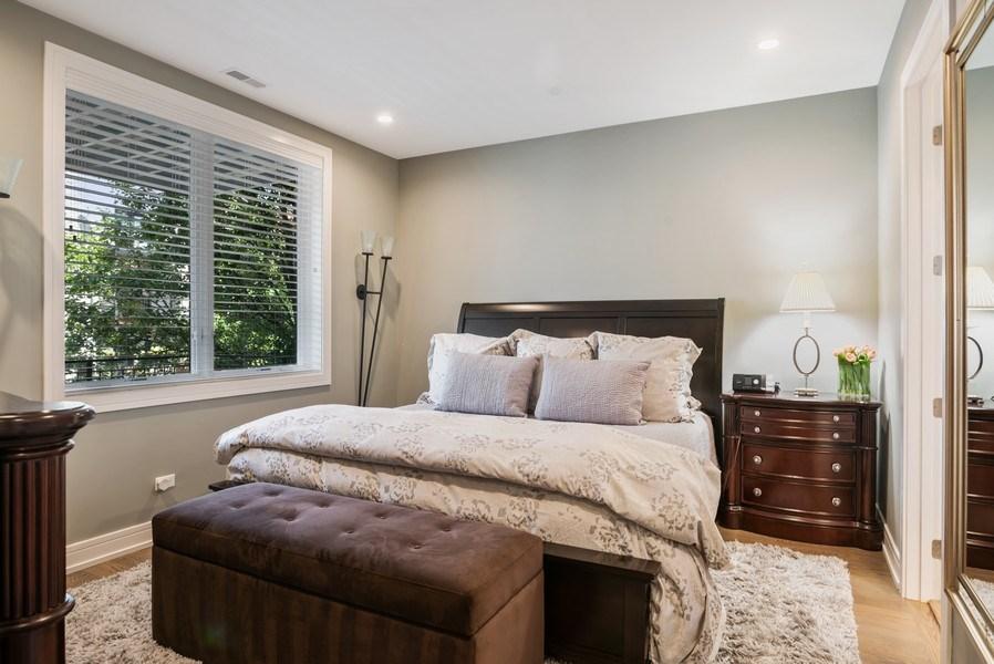 Real Estate Photography - 858 W Aldine, #2, Chicago, IL, 60657 - Master Bedroom