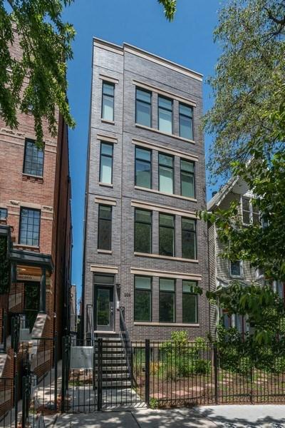 Real Estate Photography - 858 W Aldine, #2, Chicago, IL, 60657 - Front View
