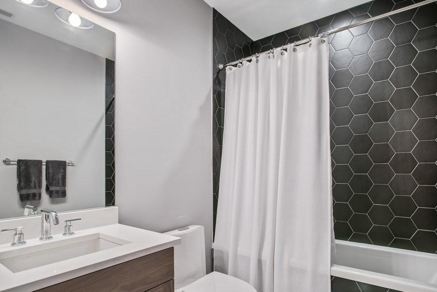 Real Estate Photography - 858 W Aldine, #2, Chicago, IL, 60657 - Bathroom