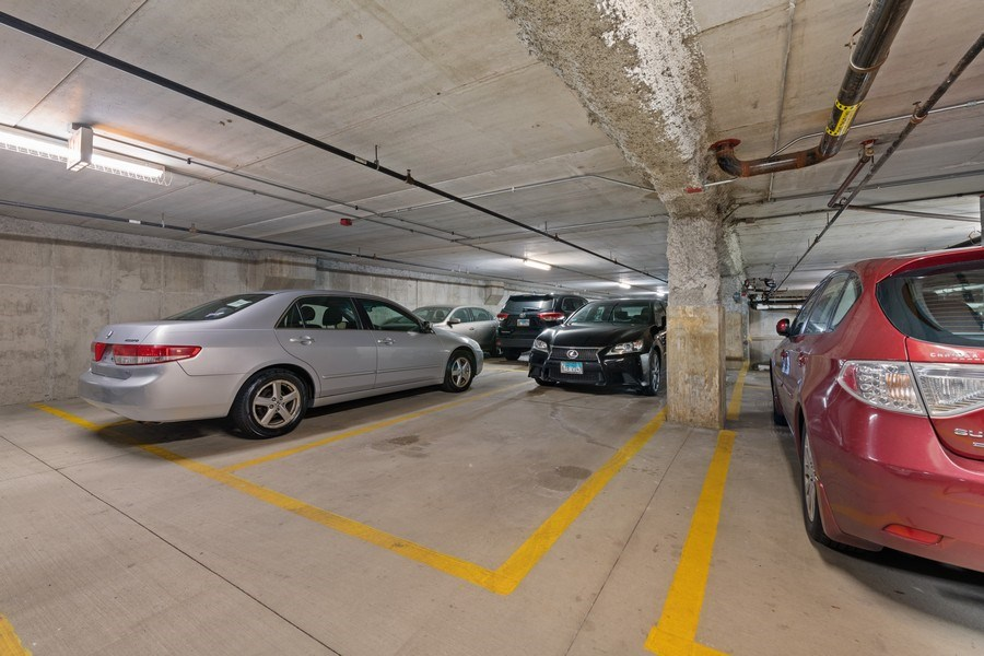 Real Estate Photography - 4848 N Sheridan, Unit 209, Chicago, IL, 60640 - Garage