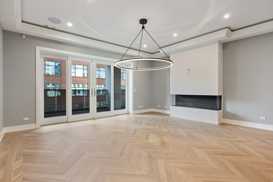 Real Estate Photography - 220 S Green St, 4S, Chicago, IL, 60607 - Lower Level