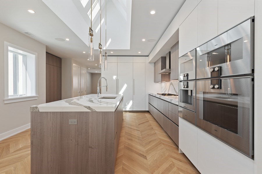 Real Estate Photography - 220 S Green St, 4S, Chicago, IL, 60607 - Kitchen