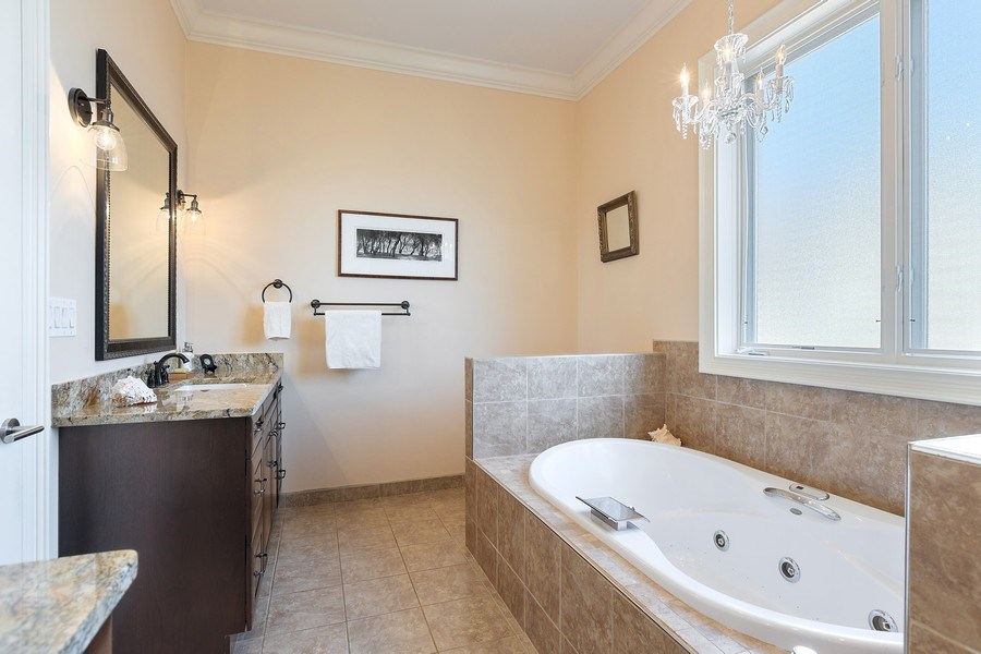 Real Estate Photography - 1321 N Bell, Chicago, IL, 60622 - Master Bathroom