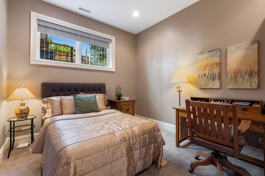 Real Estate Photography - 1321 N Bell, Chicago, IL, 60622 - 3rd Bedroom