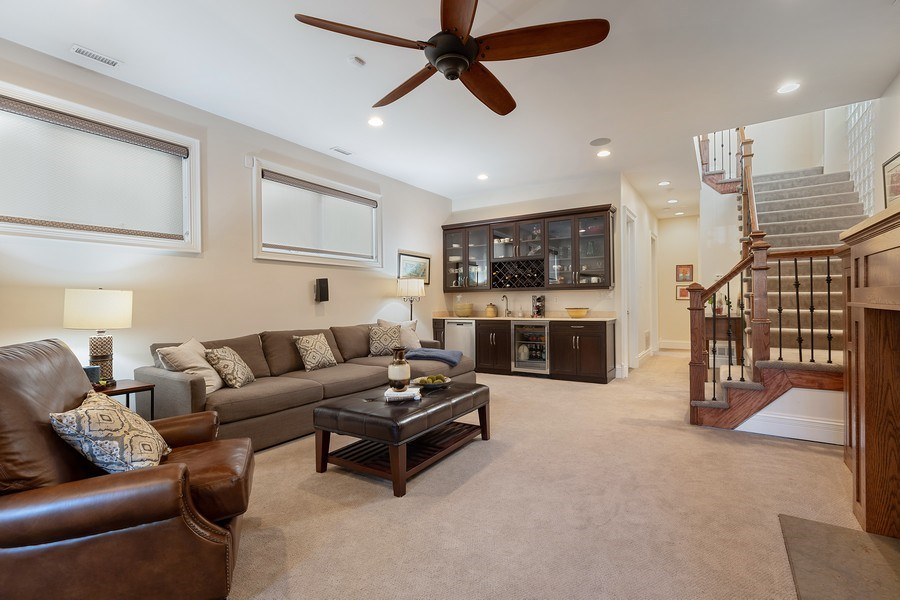 Real Estate Photography - 1321 N Bell, Chicago, IL, 60622 - Lower Level