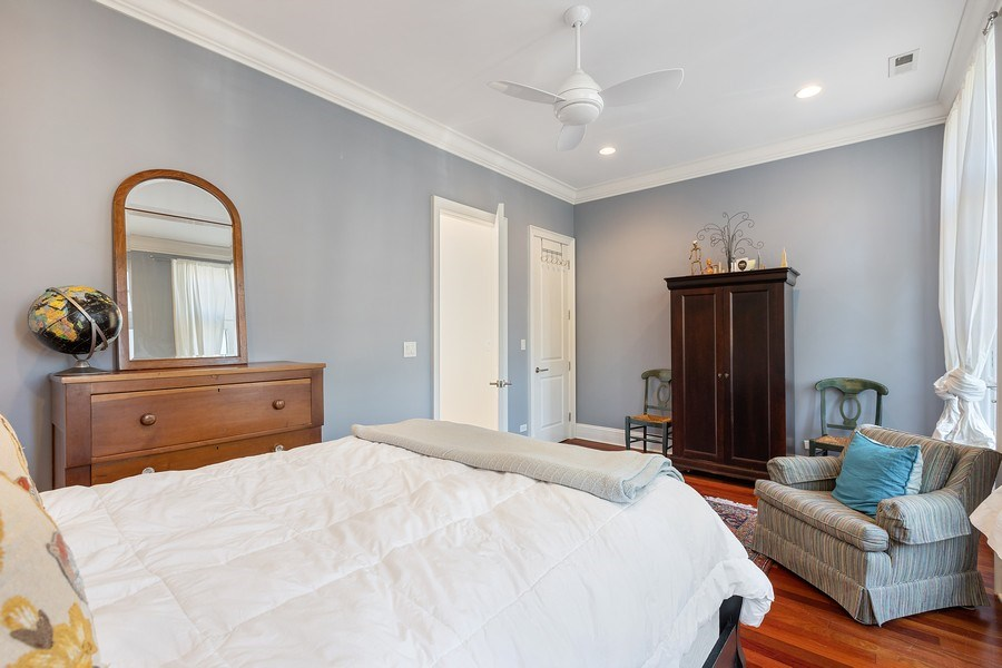 Real Estate Photography - 1321 N Bell, Chicago, IL, 60622 - Bedroom