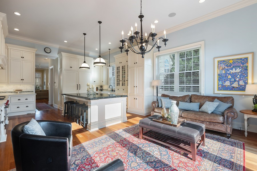 Real Estate Photography - 1321 N Bell, Chicago, IL, 60622 - Family Room
