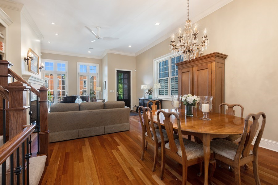 Real Estate Photography - 1321 N Bell, Chicago, IL, 60622 - Dining Room