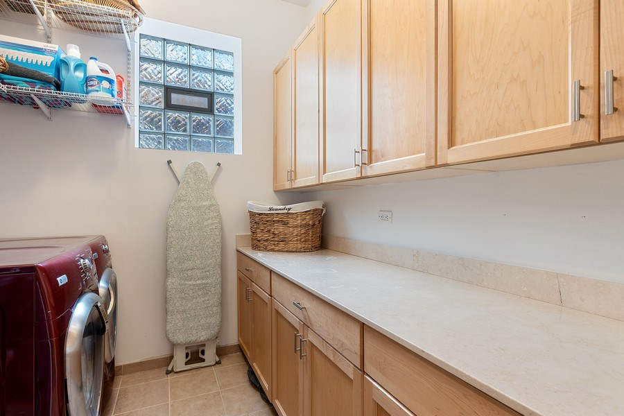 Real Estate Photography - 1321 N Bell, Chicago, IL, 60622 - Laundry Room