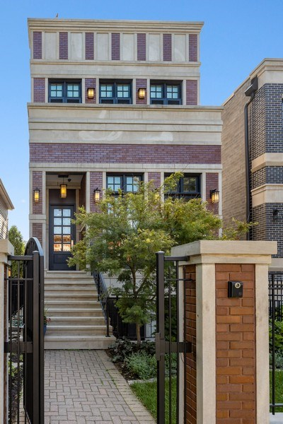 Real Estate Photography - 1321 N Bell, Chicago, IL, 60622 - Front View
