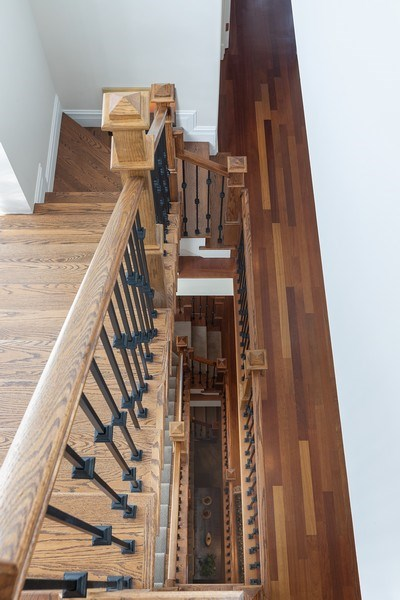 Real Estate Photography - 1321 N Bell, Chicago, IL, 60622 - Staircase