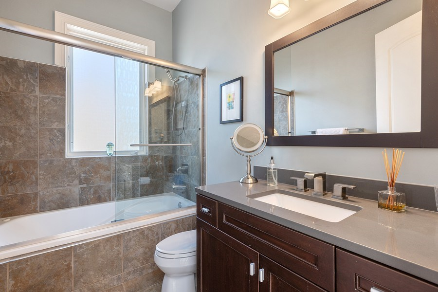 Real Estate Photography - 1321 N Bell, Chicago, IL, 60622 - Bathroom