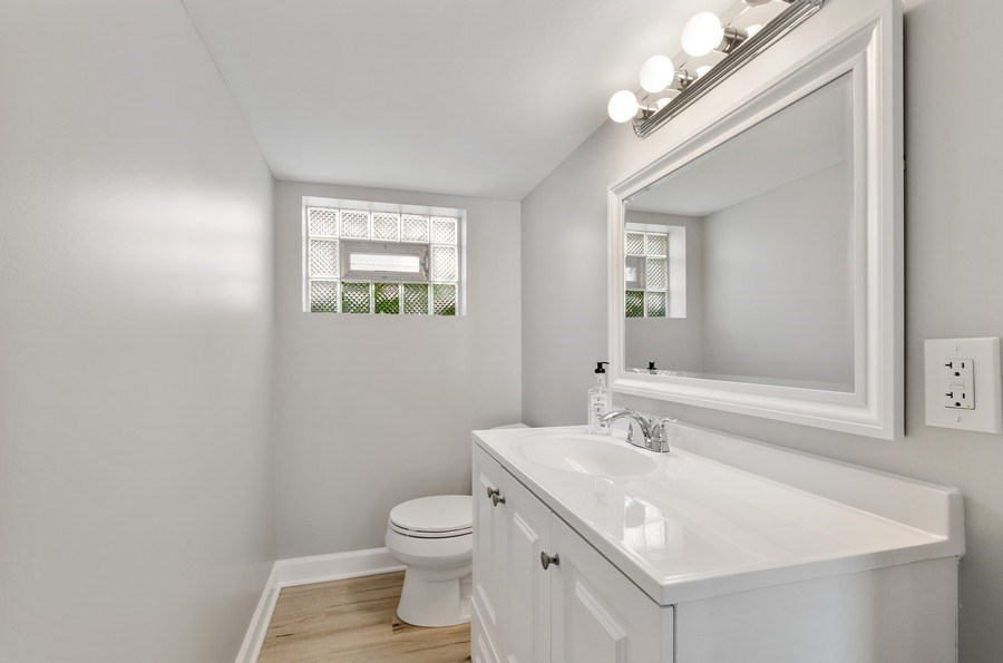 Real Estate Photography - 5850 N Virginia, Chicago, IL, 60659 - Powder Room