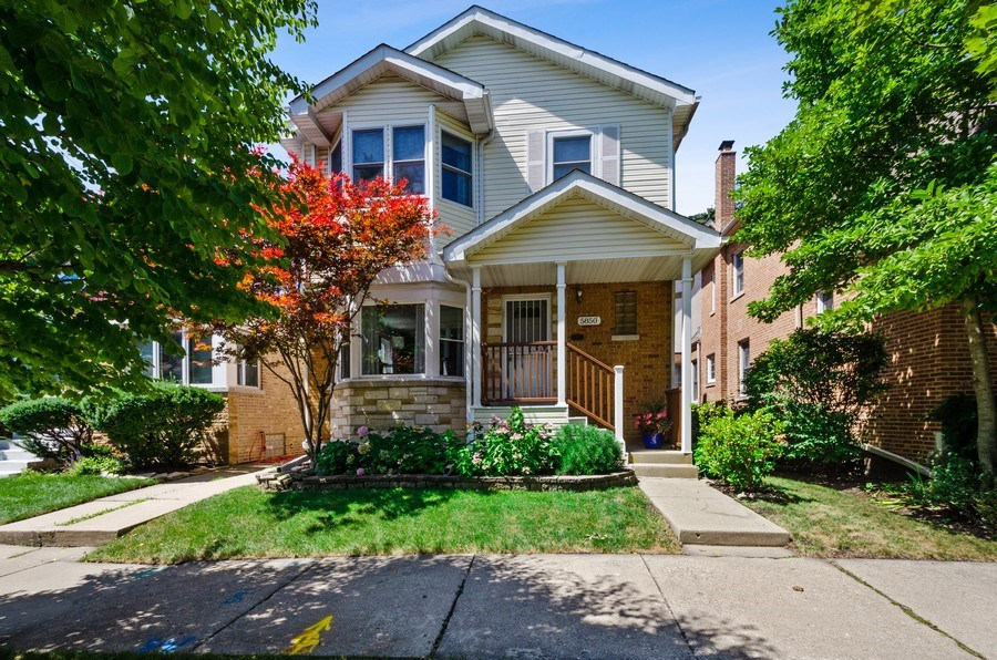 Real Estate Photography - 5850 N Virginia, Chicago, IL, 60659 - Front View