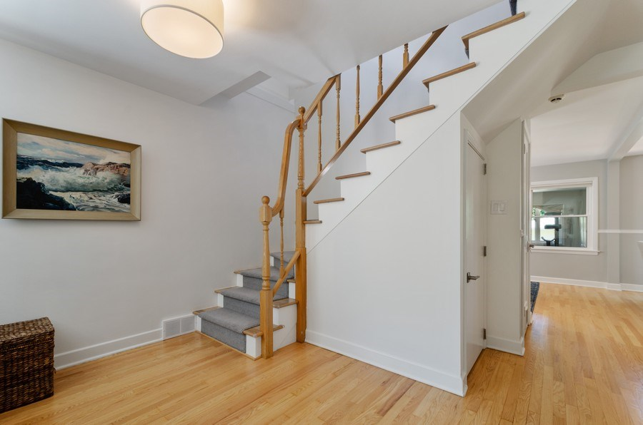 Real Estate Photography - 5850 N Virginia, Chicago, IL, 60659 - Staircase
