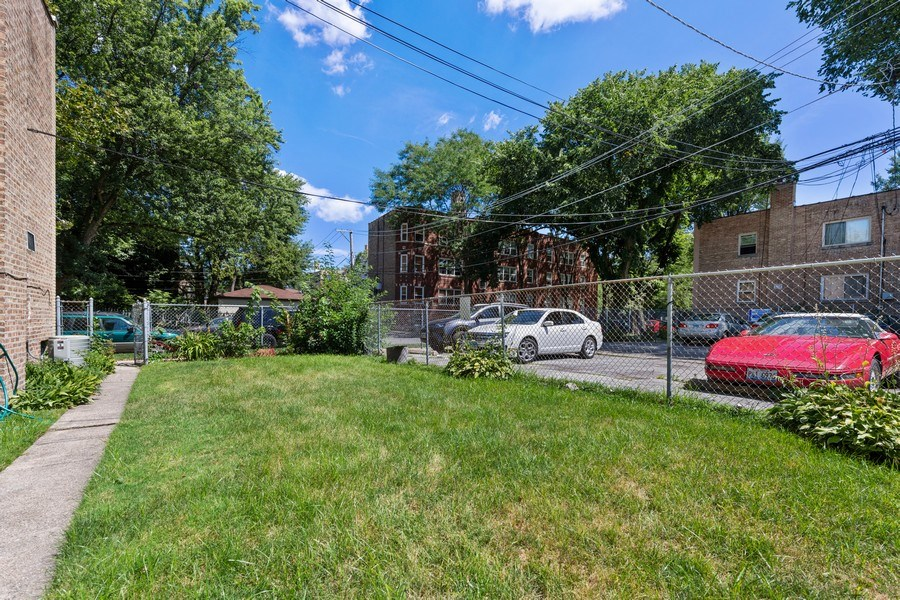 Real Estate Photography - 2121 W. Hood Ave, 1W, Chicago, IL, 60659 - Back Yard