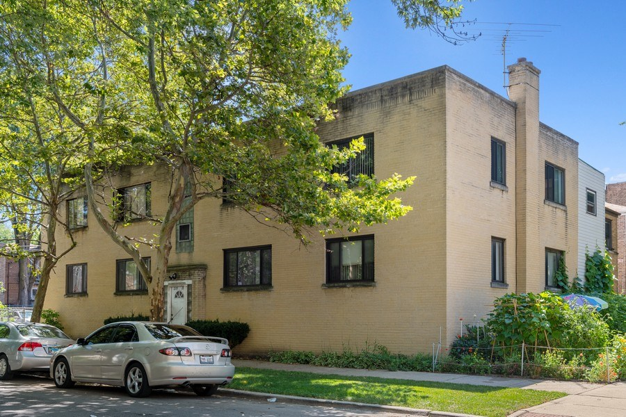 Real Estate Photography - 2121 W. Hood Ave, 1W, Chicago, IL, 60659 - Front View