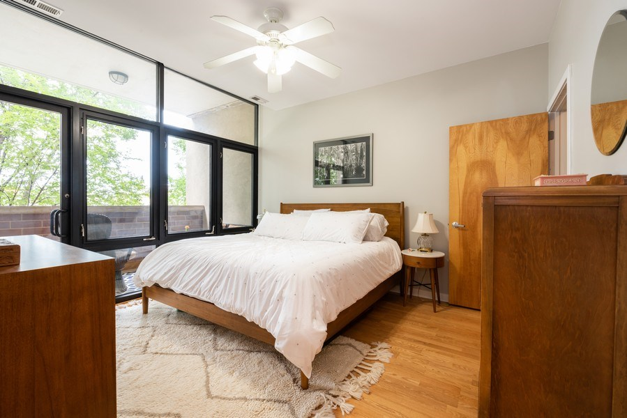 Real Estate Photography - 3946 N Ravenswood, #304, Chicago, IL, 60613 - Bedroom