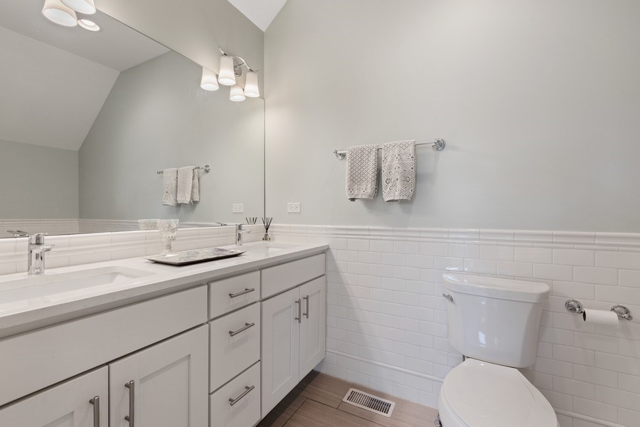 Real Estate Photography - 1827 W Melrose, Chicago, IL, 60657 - 3rd Bathroom