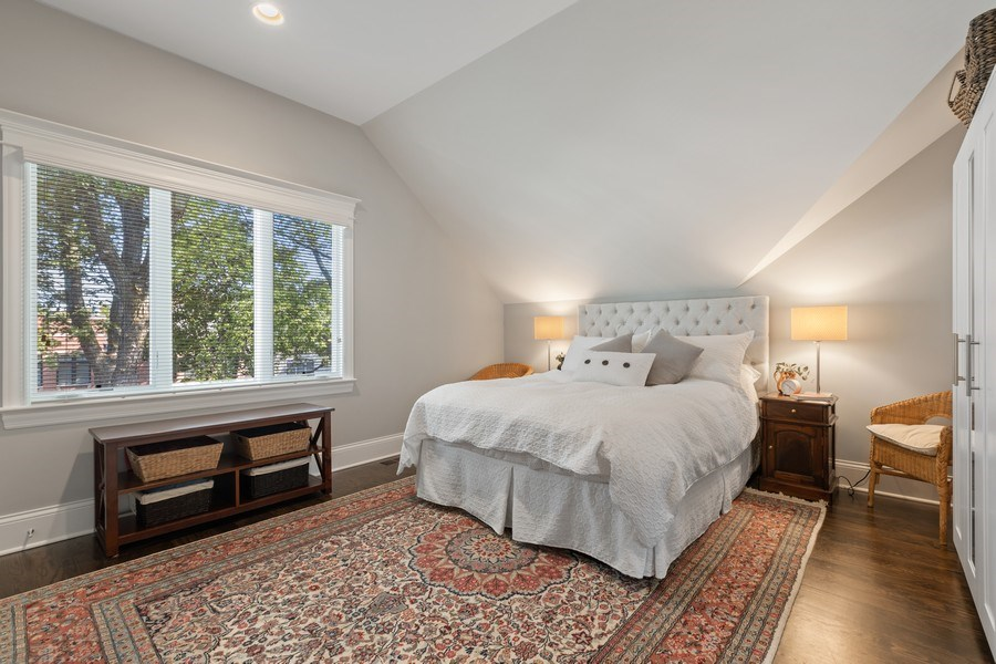 Real Estate Photography - 1827 W Melrose, Chicago, IL, 60657 - 2nd Bedroom