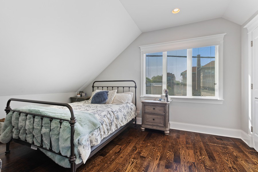 Real Estate Photography - 1827 W Melrose, Chicago, IL, 60657 - 3rd Bedroom