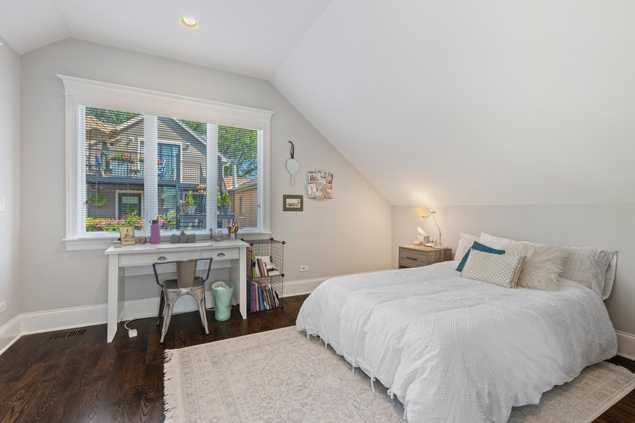 Real Estate Photography - 1827 W Melrose, Chicago, IL, 60657 - 4th Bedroom