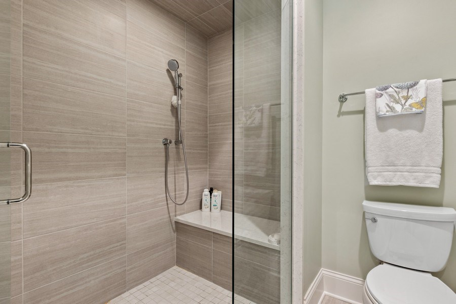 Real Estate Photography - 1827 W Melrose, Chicago, IL, 60657 - Bathroom