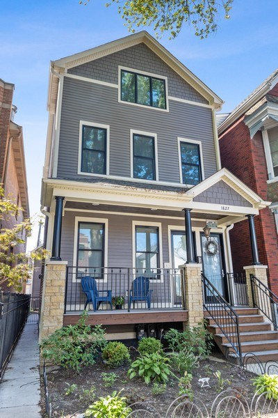 Real Estate Photography - 1827 W Melrose, Chicago, IL, 60657 - Front View