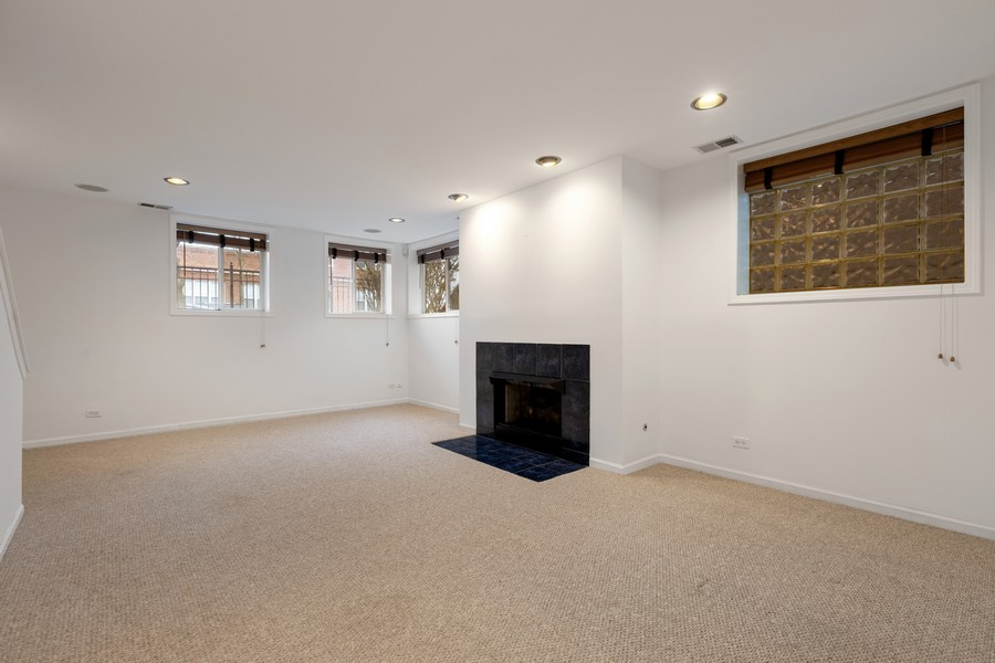 Real Estate Photography - 1768 W Thorndale, Chicago, IL, 60660 - Lower Level