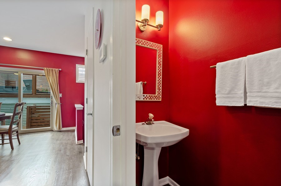 Real Estate Photography - 1768 W Thorndale, Chicago, IL, 60660 - Powder Room