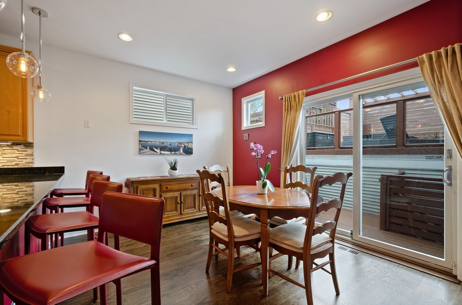 Real Estate Photography - 1768 W Thorndale, Chicago, IL, 60660 - Dining Room