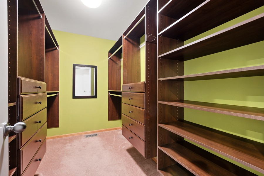 Real Estate Photography - 1768 W Thorndale, Chicago, IL, 60660 - Master Bedroom Closet
