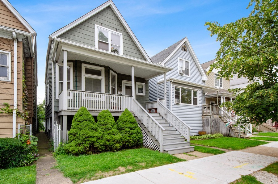 Real Estate Photography - 4922 N Bell, Chicago, IL, 60625 - Front View