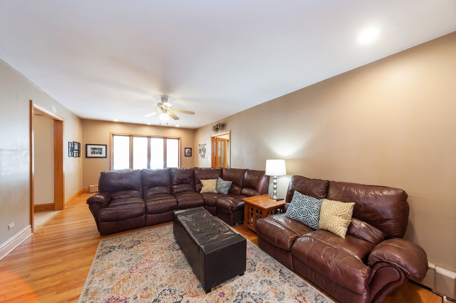 Real Estate Photography - 6308 N Sayre, Chicago, IL, 60631 - Living Room