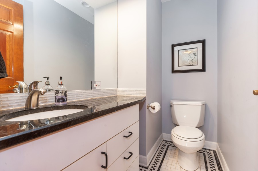 Real Estate Photography - 6308 N Sayre, Chicago, IL, 60631 - 3rd Bathroom