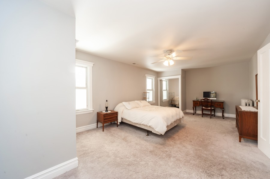 Real Estate Photography - 6308 N Sayre, Chicago, IL, 60631 - Master Bedroom