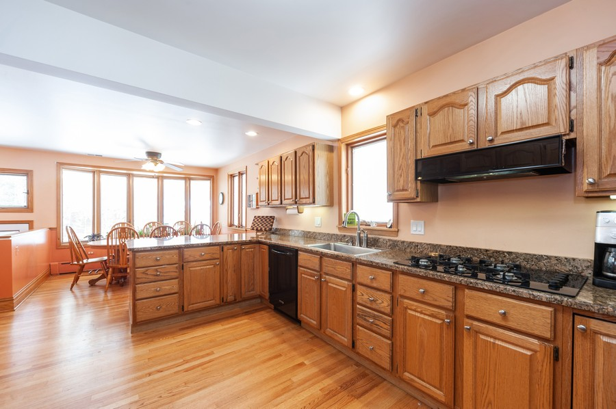 Real Estate Photography - 6308 N Sayre, Chicago, IL, 60631 - Kitchen / Breakfast Room