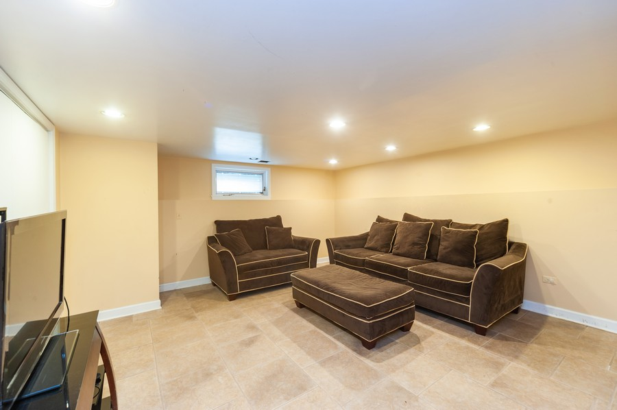 Real Estate Photography - 6308 N Sayre, Chicago, IL, 60631 - Basement