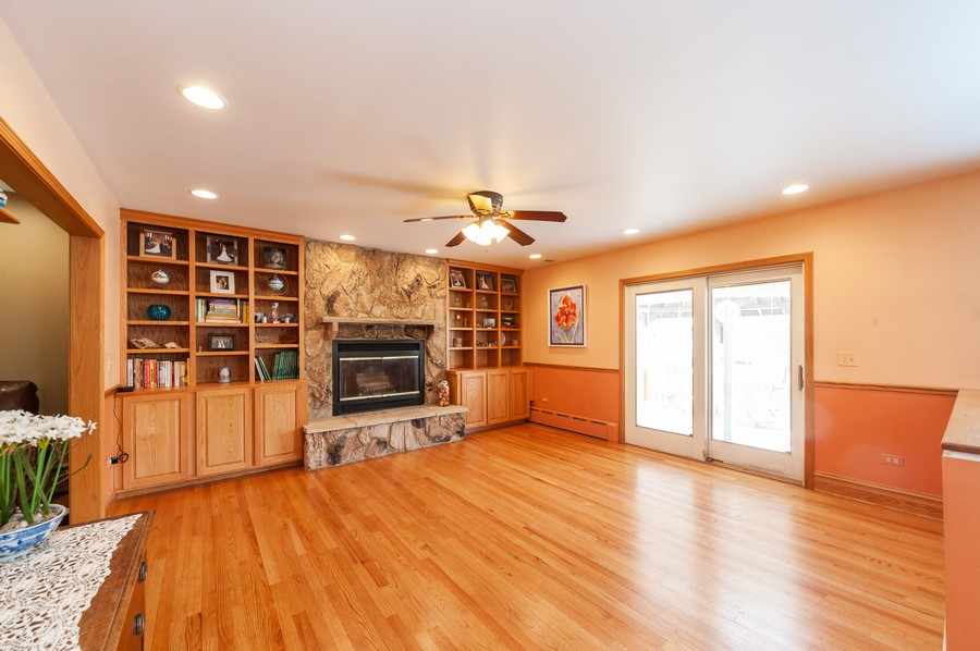 Real Estate Photography - 6308 N Sayre, Chicago, IL, 60631 - Family Room