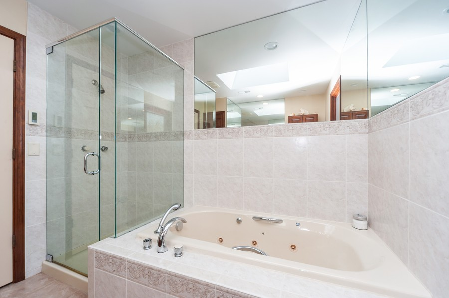 Real Estate Photography - 6308 N Sayre, Chicago, IL, 60631 - Bathroom